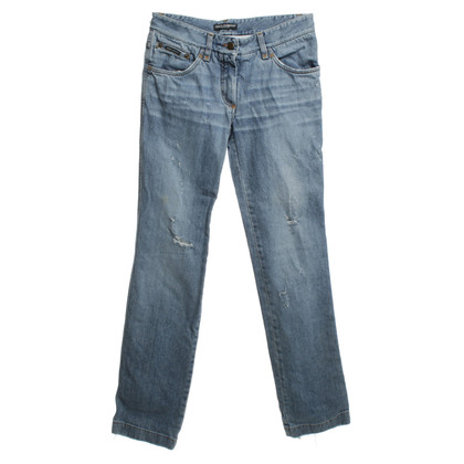 Dolce & Gabbana Jeans in look distrutto