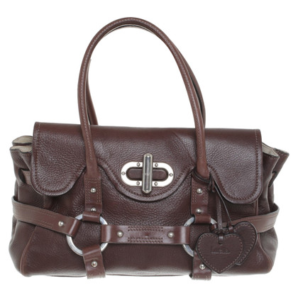 Luella Handbag in dark brown