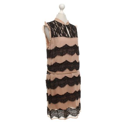 Andere Marke Essentiel - Kleid in Bicolor