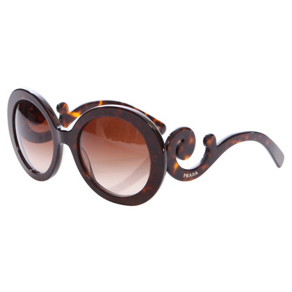 Prada sunglasses with swirl arm