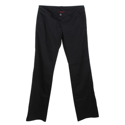 Prada pantaloni leggeri in nero