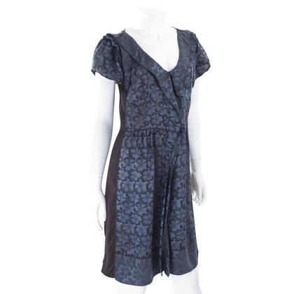 Marc Jacobs Zijde ruffle jurk