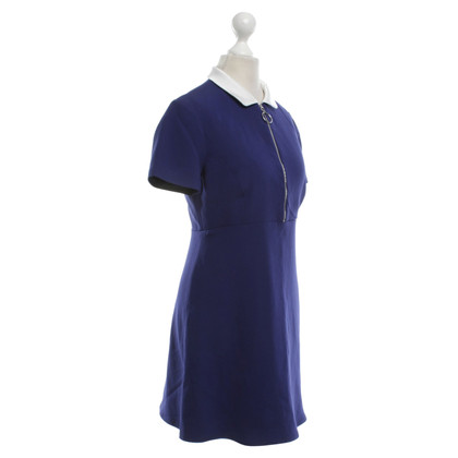 Claudie Pierlot Kleid in Tintenblau