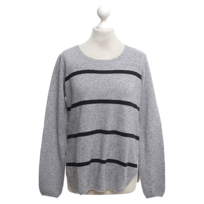 Cinque Knit sweater in grey / black