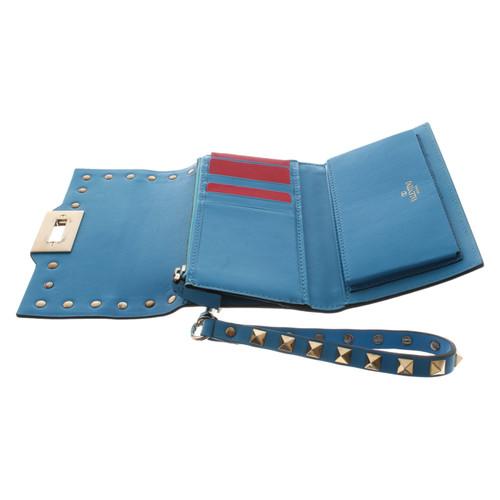comprare on line d9da4 0b194 Valentino Borsette/Portafoglio in Pelle in Blu - Second hand ...
