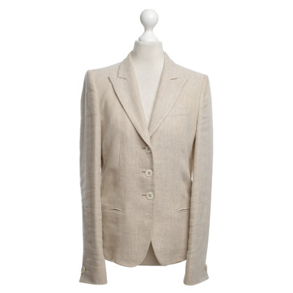 René Lezard Blazer in Beige / White