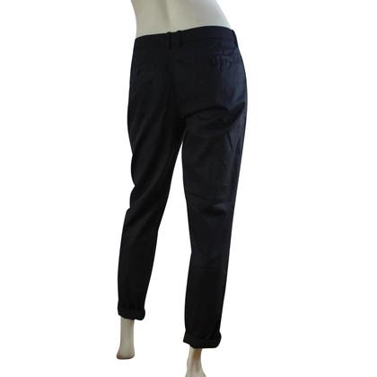 Drykorn pantaloni estivi in blu scuro