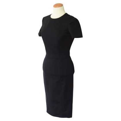 Chanel Tailliertes Kleid in Schwarz
