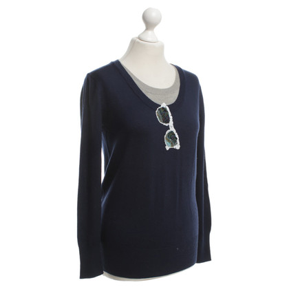 Markus Lupfer Sweater in dark blue