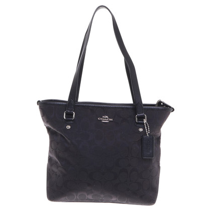 Coach Shopper in black