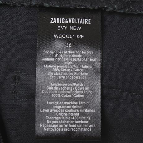 in Schwarz Cordhose amp; Voltaire Cordhose Schwarz Voltaire amp; in Zadig Zadig 5w60vOqOx
