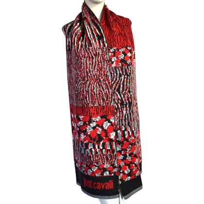 Just Cavalli sciarpa in lana con cashmere