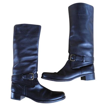 Prada Prada boots vero cuoio