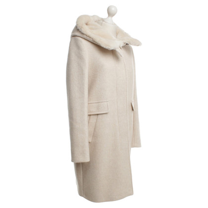 Other Designer Marella coat in cream white