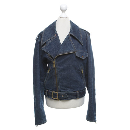 D&G giacca di jeans in look stone washed