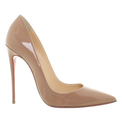 Christian Louboutin pumps made of lacquered leather