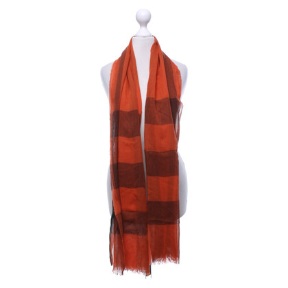 Burberry Scarf with plaid pattern