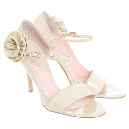 Gianvito Rossi Sandy Latvians in crème