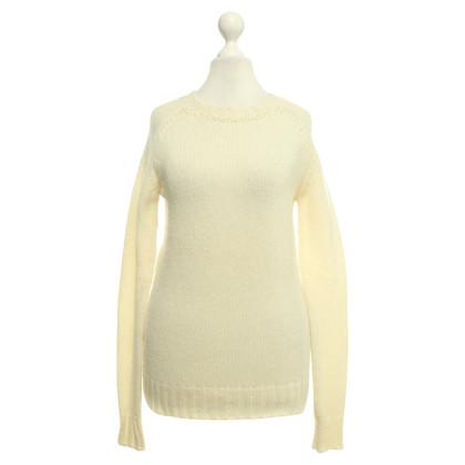 Balmain maglione maglia in crema