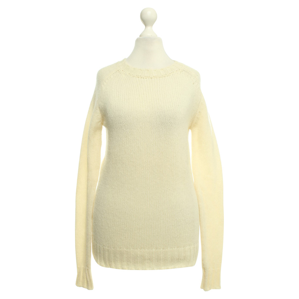 Balmain Knitted sweater in cream