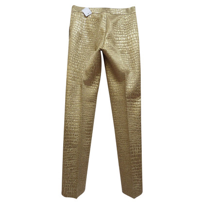 Blumarine Pantaloni realizzati Lamé