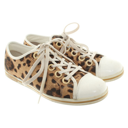 Dolce & Gabbana Sneakers met animal print