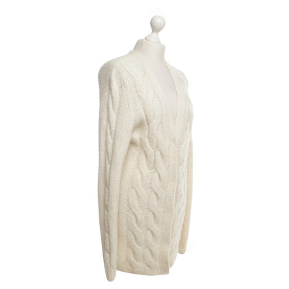 Escada Knitted coat in cream