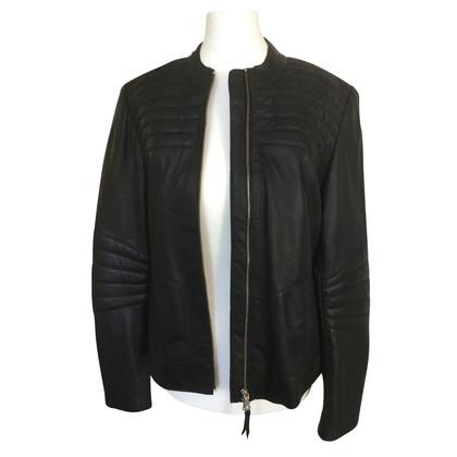 Bogner Zwarte biker jacket