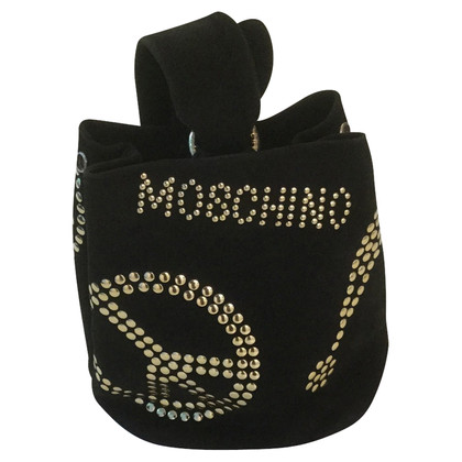 Moschino Handbag with rivets