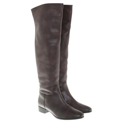 Santoni Boots in brown