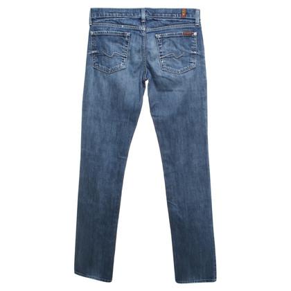 7 For All Mankind Blauwe spijkerbroek
