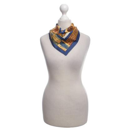 Hermès Sciarpa di seta con motivo maschere