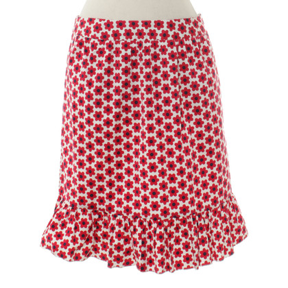 Moschino skirt with flower pattern