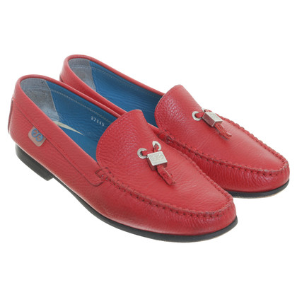 Escada Loafer in het rood