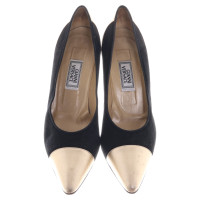 Gianni Versace pumps in black / gold
