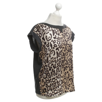 Laurèl Shirt with leopard pattern