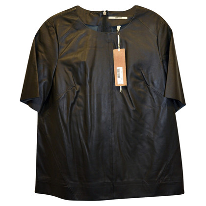 J Brand top made of lambskin