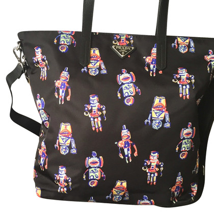Prada Robotic print bag
