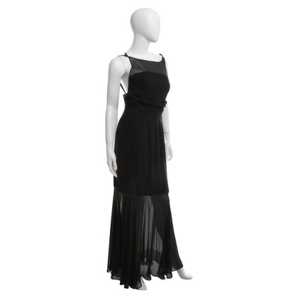Karl Lagerfeld Silk dress in black