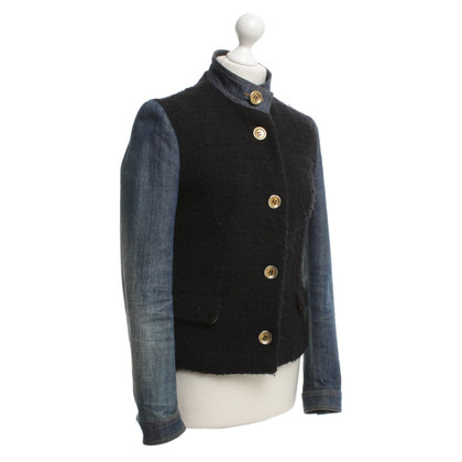 D&G Jeans jacket with knit