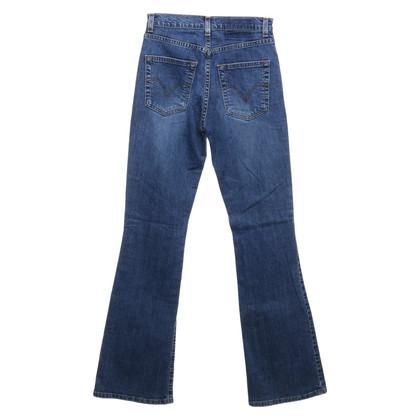 Levi's Blauwe jeans met hoge taille