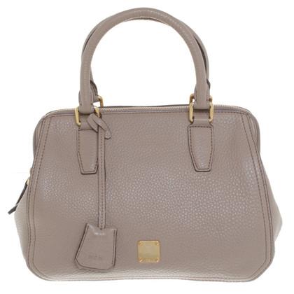 MCM Handtasche in Beige