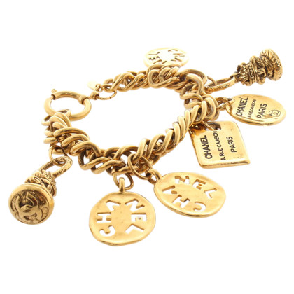 Chanel Goldfarbenes Bettelarmband