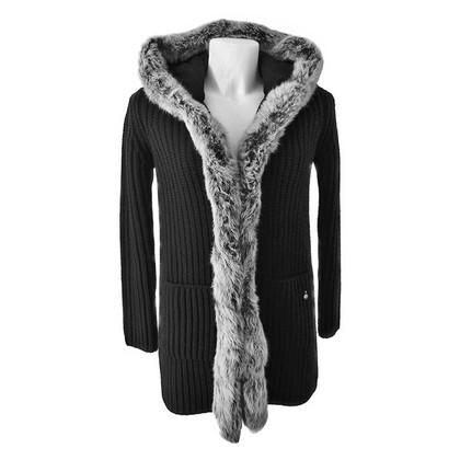 Woolrich Mantel mit Pelz