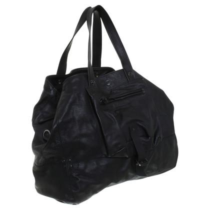 Jerome Dreyfuss Leather bag in black
