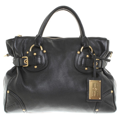 Car Shoe Shoulder bag in black