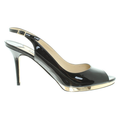 "Jimmy Choo ""ALEXIS"" in zwart"