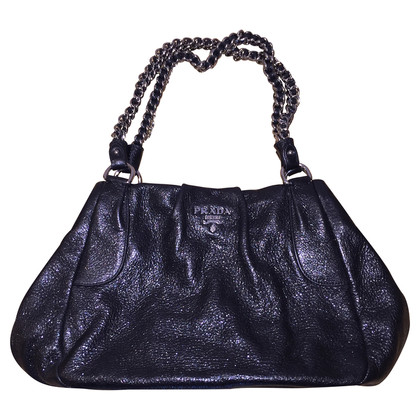 Prada Sparkling black Tote bag