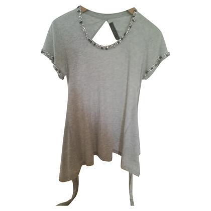 Twin-Set Simona Barbieri Chemise avec garniture de pierres précieuses
