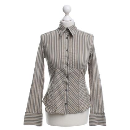 Karen Millen Bluse mit Streifenmuster